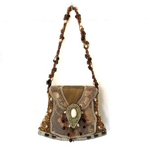 Mary Frances Bag Purse Mini Handbag Evening Beaded